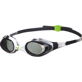 arena Spider Goggles Juniors black-white-clear